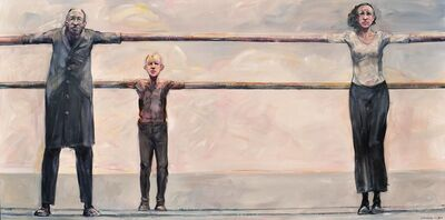 Robert Indermaur, 'Fences - Doppelzaun', 2016