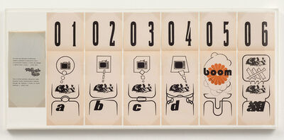Edgardo Antonio Vigo, 'Comic Strip', 1972