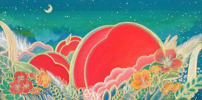 Hyunju Kim, 'Peach Paradise - Green spring ', 2019