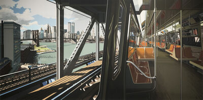 Richard Estes, 'D-Train', 1988