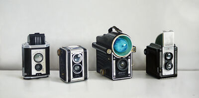 Christopher Stott, 'Four Vintage Cameras', 2016
