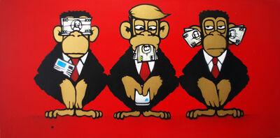 Mau Mau, 'Trump Monkeys', 2019