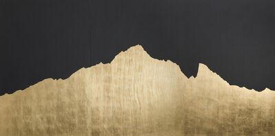 Giovanni Ozzola, 'Mont Analogue - Montebianco - Oro', 2016