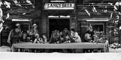 "David Yarrow, '""The Last Supper"" In The Last Frontier', 2018"