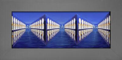 Patrick Hughes, 'Colonnades in Moonlight', 2012