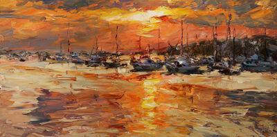 Lyudmila Agrich, 'Sunset Marina', 2018