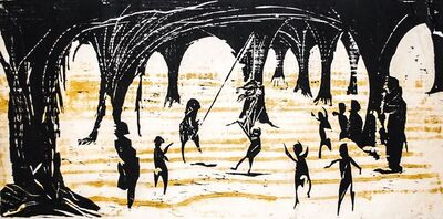 Jim Steg, 'Piñata (Mexico)', 1958
