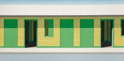 Emilio Sanchez, 'Long Yellow House'
