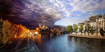 Stephen Wilkes, 'Pont de la Tournelle, Paris, Day to Night', 2013