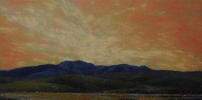 Tom Howard, 'Sunset Over the Fields of Bancroft', 2018