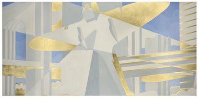 Winold Reiss, 'City of the Future, Panel II', 1936