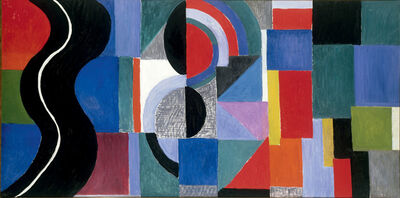 Sonia Delaunay, 'Syncopated Rhythm, so-called The Black Snake', 1967