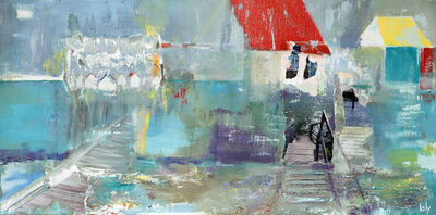 Geraldine Laly, 'The Coloured Roofs'