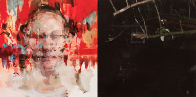 Alex Kanevsky, 'J.F.H. and Dark Garden', 2015