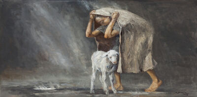Cen Long, 'Rainstorm', 2015
