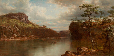 Daniel Huntington, 'Lake Mohonk', 1872