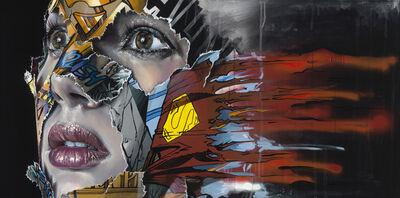 Sandra Chevrier, 'La Cage et les lambeaux rouges comme le feu', 2019
