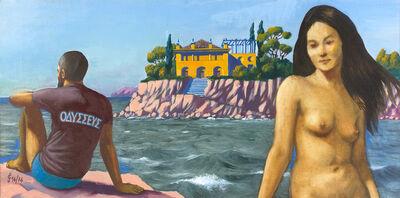 Sergio Ceccotti, 'Odysseus e Calypso', 1974