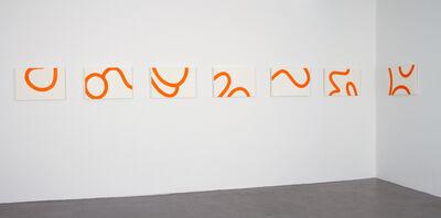 Clytie Alexander, 'Loop (Orange)', 2011-2018