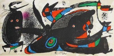 Joan Miró, 'Set of 7 original lithographs, Miro sculptor,', 1974