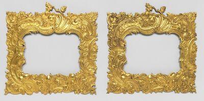 'Pair of frames', ca. 1745