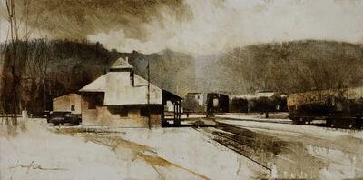 Charlie Hunter, 'Railyard, March Afternoon'