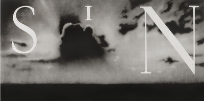 Ed Ruscha, 'Sin-Without', 2002