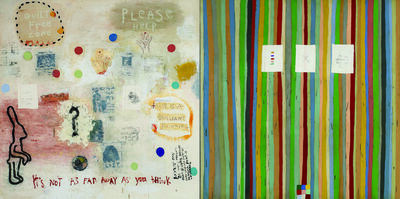 Squeak Carnwath, 'Everything 2', 2002