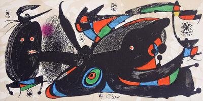 Joan Miró, 'Miró Escultor England', 1974
