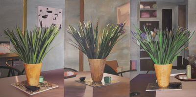 Erik A. Frandsen, 'Still Life with Uranium Glazed Kähler Vase', 2017