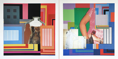 Peter Halley, '2 works: Contamination I and Contamination II', 2002