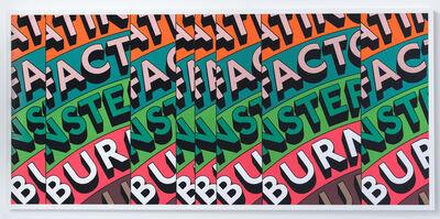 Tim Fishlock, 'FACT BURNS', 2020