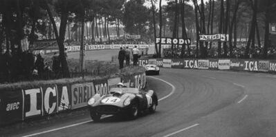 Jesse Alexander, 'Phil Hill, Ferrari, Le Mans, 24 HRS', 1955