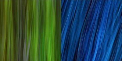 Rodolfo Choperena, 'Verde y Azul', 2016