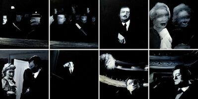 "Enrique Marty, 'The third man (from the series ""Black paintings"")', 1997"