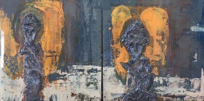 Sylvain Tremblay, 'D'une regard à l'autre (Diptyque)', 2017