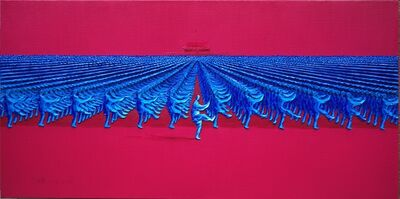 Yu Nancheng, 'Tai Chi Toes Kick Right'