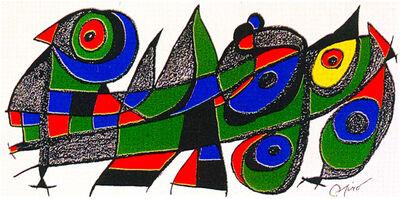 Joan Miró, 'Miro Sculptor - Japan', 1974