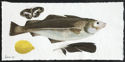 Mary Fedden, 'Fish, Butterfly, Lemon & Feather', 2007