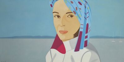 Alex Katz, 'Blue Hat', 2004