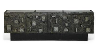 Paul Evans, 'Sculptured Metal cabinet', 1969
