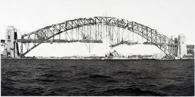 Hisaharu Motoda, 'Indication- Harbour Bridge (Sydney)', 2010