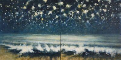 Bill Jacklin, 'Sea and Stars at Night II (diptych)', 2015