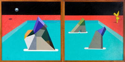 Gustavo Peña, 'Swimming Geometry', 2019
