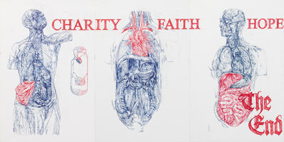 Andrei Molodkin, 'Charity, Faith, Hope', 2008