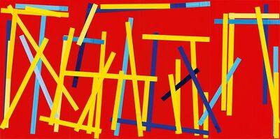 Imi Knoebel, 'Fishing Red I E', 2007/2009