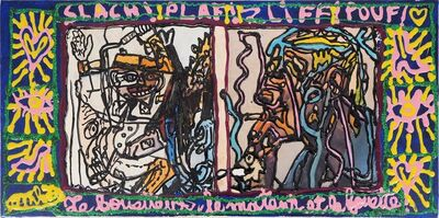 Robert Combas, 'Slach, The Whipper and The Killer', 1998
