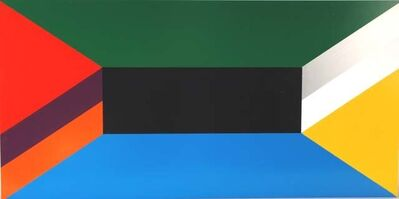 John Nixon, 'Project for a Theatre Set II Colour Group E (Random)', 2008