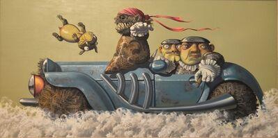 Chen Liu 陈流, 'BLUE CAR', 2011