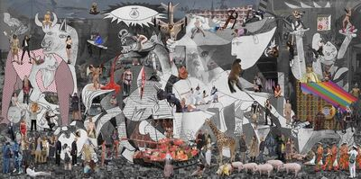Lluis Barba, 'Guernica II ', 2019